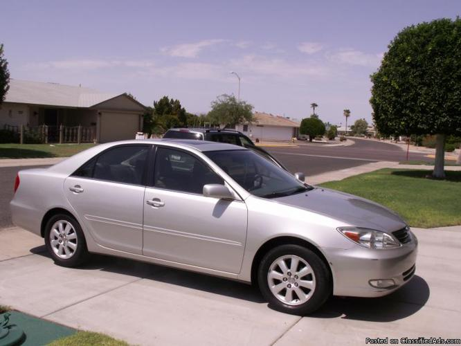 2003 Toyota Camry Xle Price 10 000 In Sun City Arizona