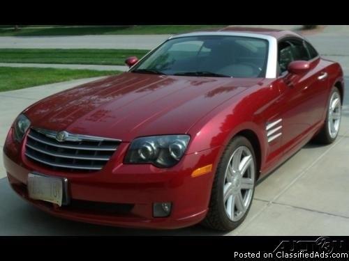 2004 Chrysler Crossfire Limited For Sale In Lincoln, Nebraska 68512