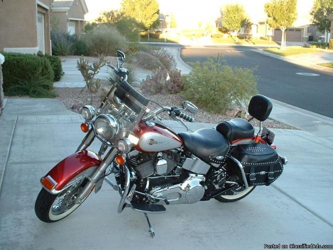 2004 Harley Heritage Soft Tail