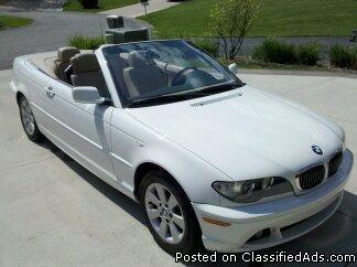 2005 BMW 3-Series 325Ci convertible - Price: 10500