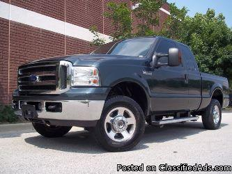 2005 Ford F-250 SUPERCAB - Price: 7700