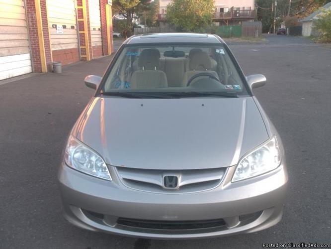 2005 Honda Civic EX Sedan 4 CYL ( Warranty Included )
