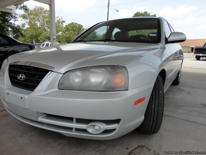 2005 Hyundai Elentra GLS ,Please call : 832-282-1653.......$3995.00