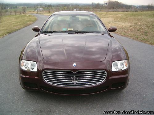 2005 Maserati Quattroporte Sedan - Price: 28500