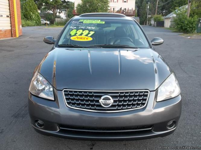 2005 Nissan Altima 2.5SL ( Warranty Included )