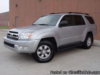 2005 Toyota 4Runner SR5 V8 4WD - Price: 11400