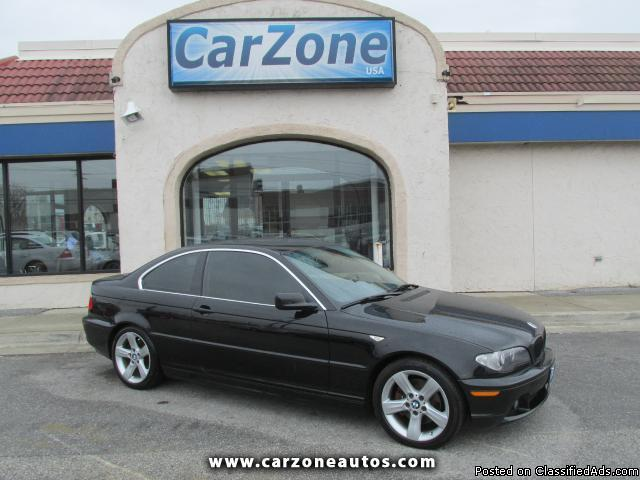 2006 BMW 3-Series 325Ci coupe with Heated Seats and Sunroof, Mileage: 115,913