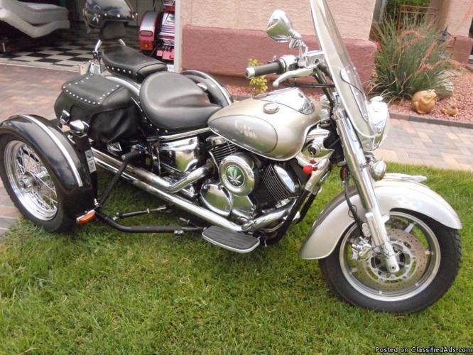 2006 Yahama V-Star Trike