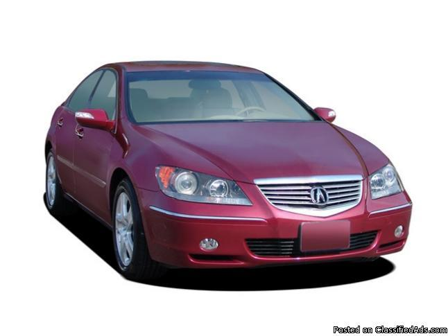 2007 Acura RL Technology Package AWD with NAV and Bluetooth, Mileage: 125,396
