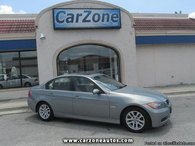 2007 BMW 3-Series 328xi with Bluetooth and Satellite Radio, Mileage: 116,116