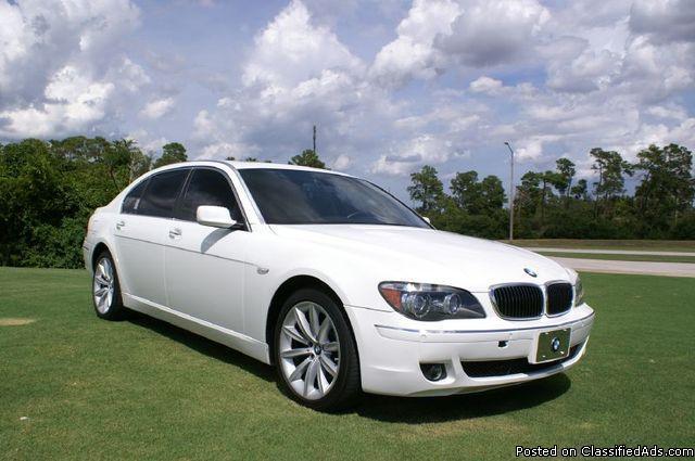 2007 BMW 7-Series 750Li, Mileage: 99,556