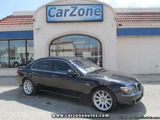 2007 BMW 750Li- Black- 97K