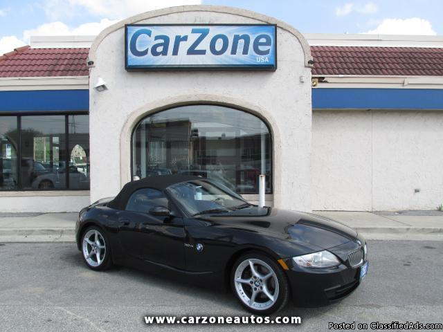 2007 BMW Z4 3.0Si- Black- 80K