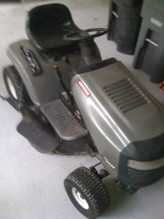 625 hp craftsman push mower black smoke then quit
