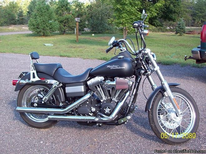 2008 Harley-Davidson FXDB Dyna Streetbob located in Marquette, MI - Price: 12,000