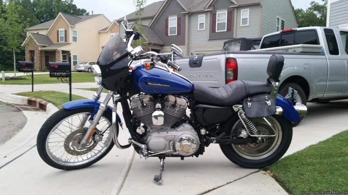 2008 Harley Davidson Sportster 883c