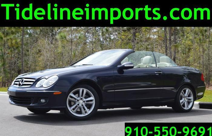 2008 Mercedes CLK350 Convertible, Leather, Nice!