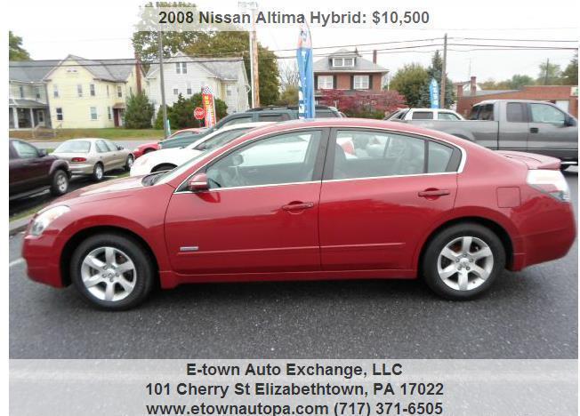 2008 Nissan Altima Hybrid HEV