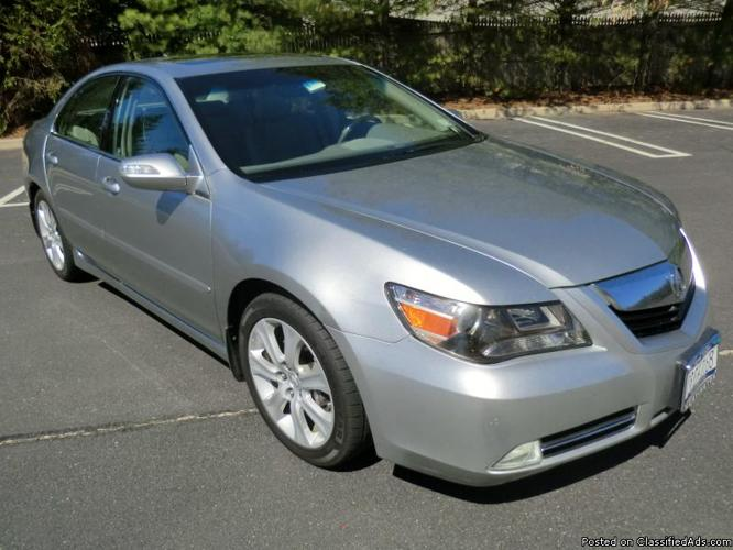 2009 Acura RL Technology Package Sedan (A4366)