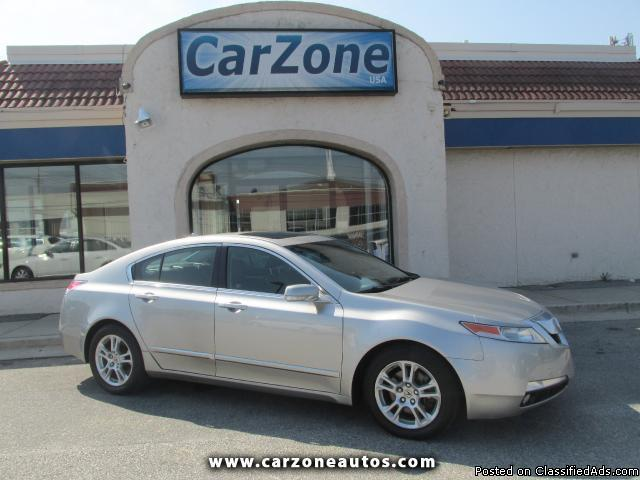 2009 Acura TL 5-Speed AT with Bluetooth and Satellite Radio, Mileage: 104,836