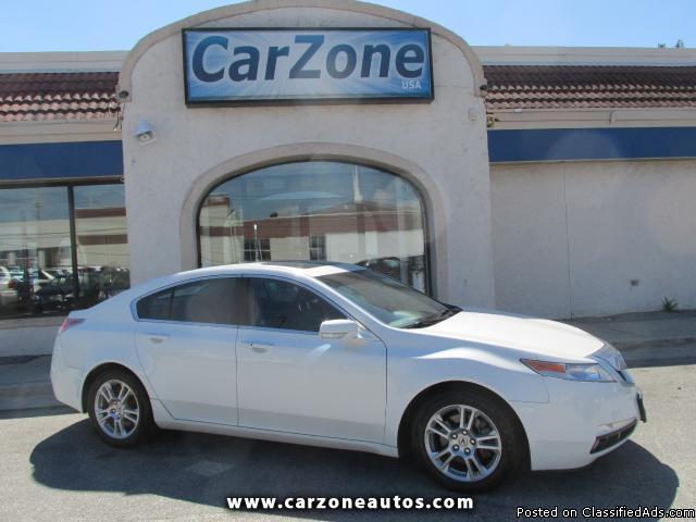 2009 Acura TL w/NAV- White- 87k
