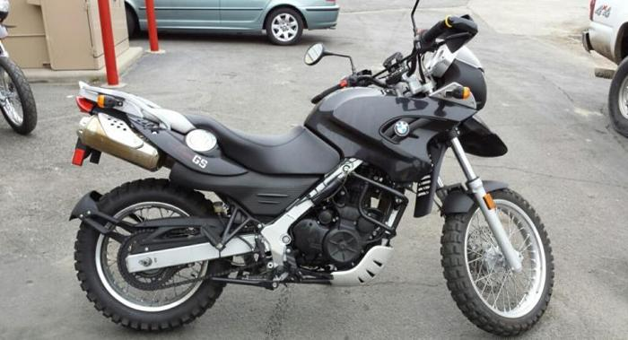 2009 BMW GS650 ADVENTURE BIKE