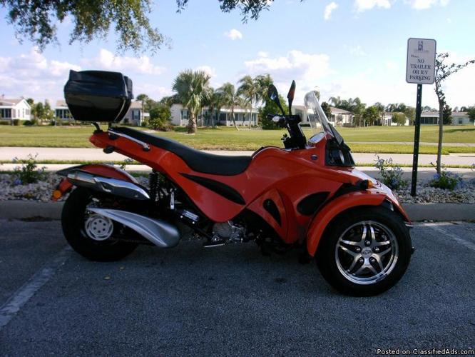 2010 KANDI-SPYDER TRIKE - Price: 4,800.00 in Port Orange ...