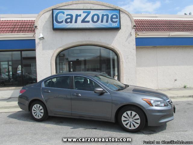 2011 Honda Accord LX- Grey- 14K