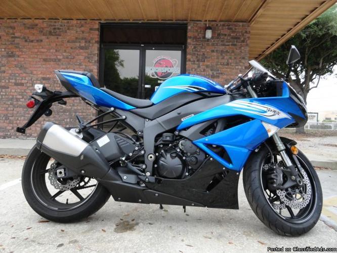 2011 Kawasaki ZX Ninja, Instant Finance Approvals