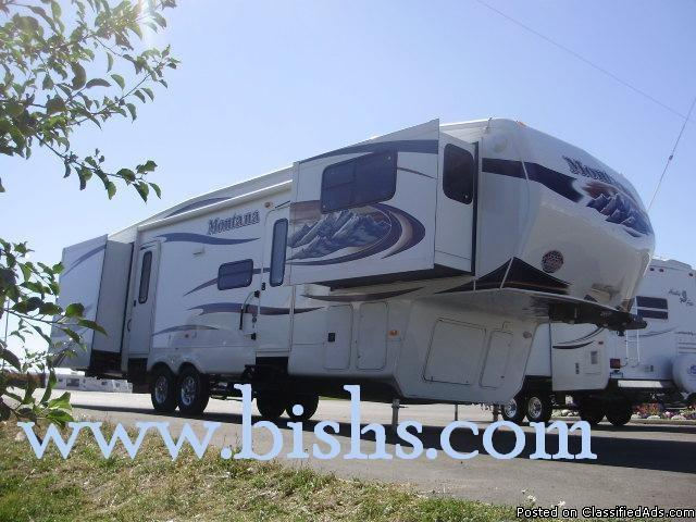 2011 Keystone Montana 3750 FL Front Living Room Luxury Fifth Wheel Price 6