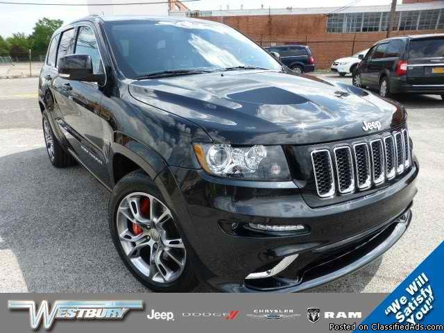2012 Jeep Grand Cherokee SRT8 at Westbury Jeep Chrysler Dodge in Westbury, NY Stock#: P15674