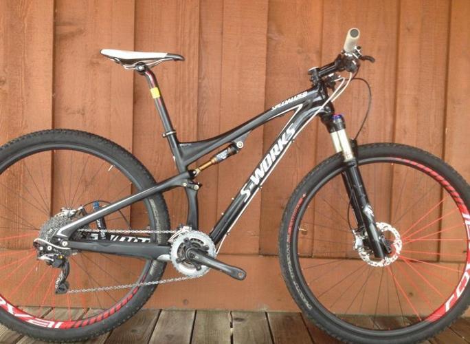 2012 Specialized S-Works Epic 29 mountain bike. Size Medium