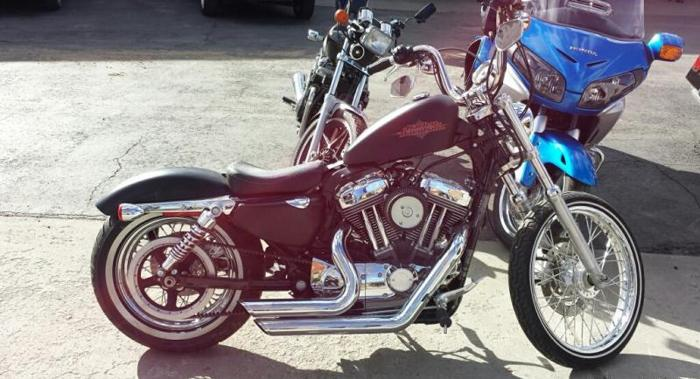 2013 Harley Davidson Sportster 1200 Seventy-Two
