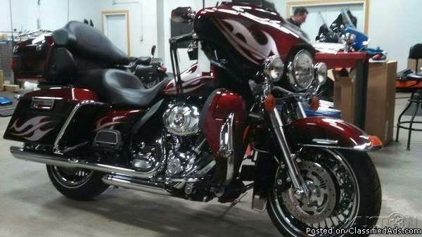 2013 Harley Davidson Ultra Classic Limited For Sale in Pekin, Illinois 61554