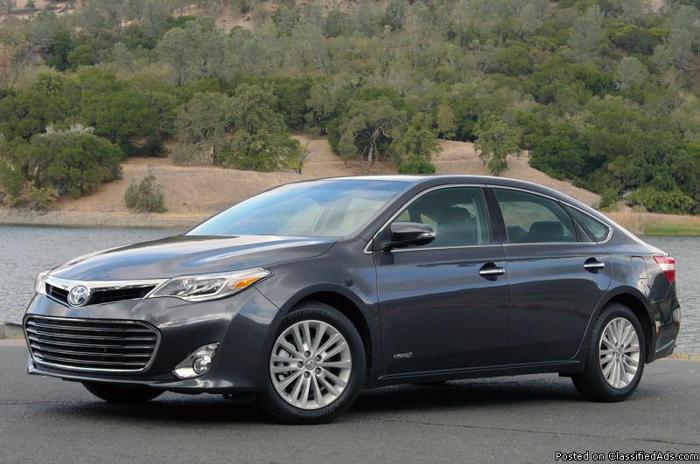 2013 Toyota Avalon Hybrid XLE Premium for sale