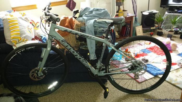 2014 Cannondale 21 sp. Mountain bike
