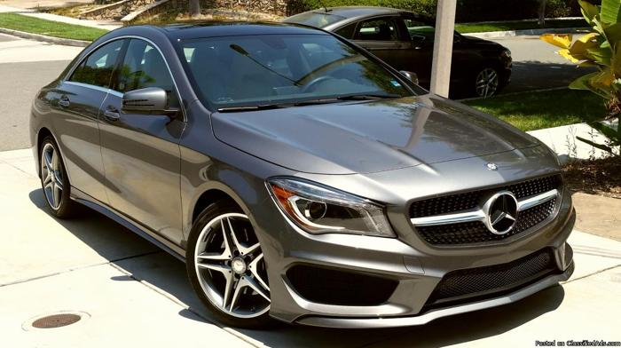 2014 Mercedes Benz CLA250 4door coupe