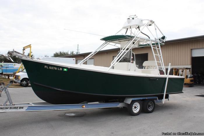 24' Morgan Custom Boats Center Console Offshore Fish ...