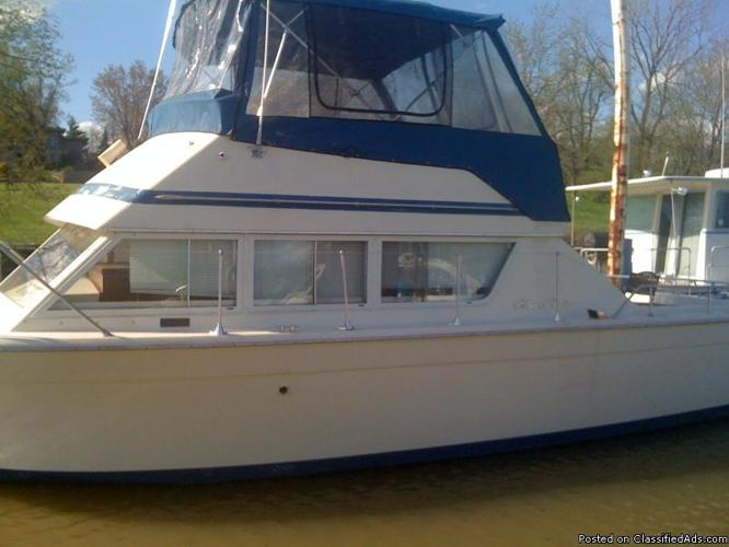 Type: Boats, For Sale - Private. 33' FT - 1977 CHRIS CRAFT - COHO ~12.6 BEAM ...