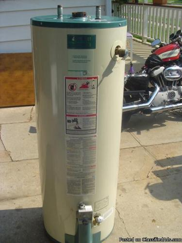 40 Gallon Gas Hot Water Heater (Reliance 501) - Price: 200