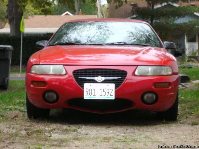 98 Chrysler Sebring 2dr