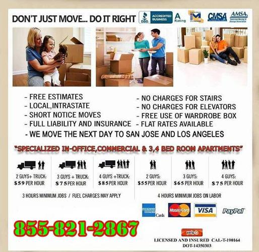 A premium Packers and Moving Company's service is available in your area
