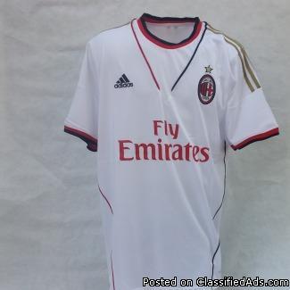 AC Milan away jerseys