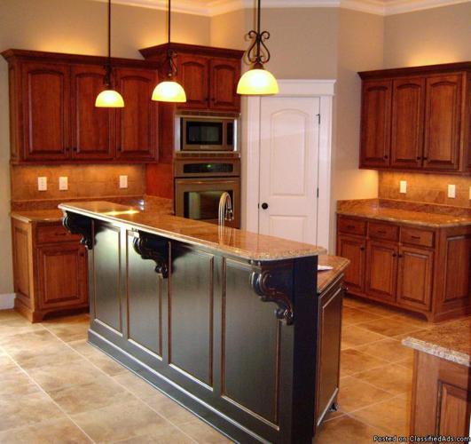 Affordable custom kitchen cabinets mobile al in mobile for Cheap kitchen cabinets for mobile homes