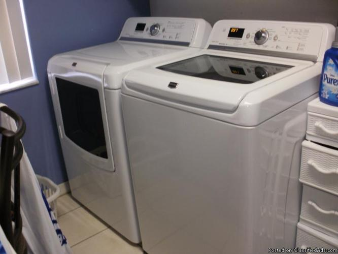 ALMOST NEW MAYTAG BRAVOS TOP LOAD WASHER/DRYER - Price ...