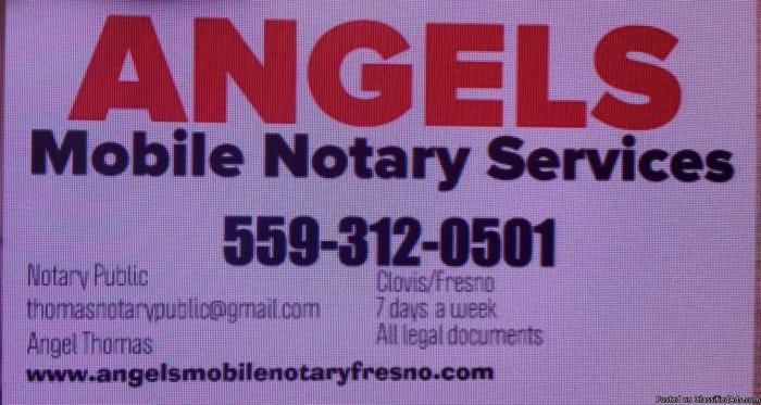 Angels mobile notary Fresno