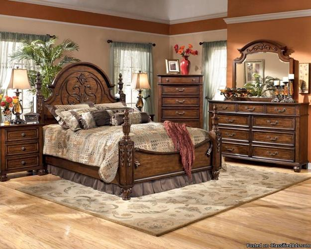 ashley brookfield bedroom set 7 pieces price in staten