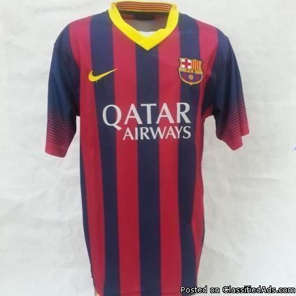 Barcelona home jerseys