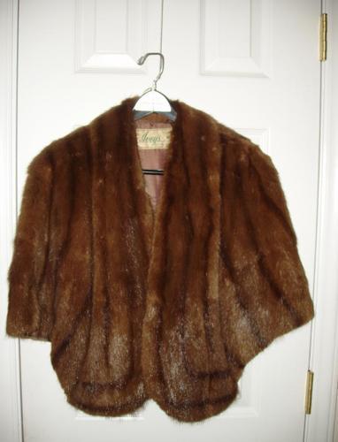 Beautiful Fur Cape