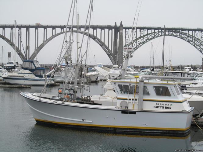 Beck Bowpicker, Tuna Troller, Salmon Troller, Commercial Fishing Boat, Fishing Boat, Sport Boat
